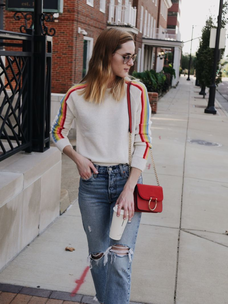 rainbow-striped-sweater