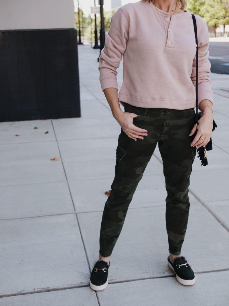 Camo outfits 5 ways