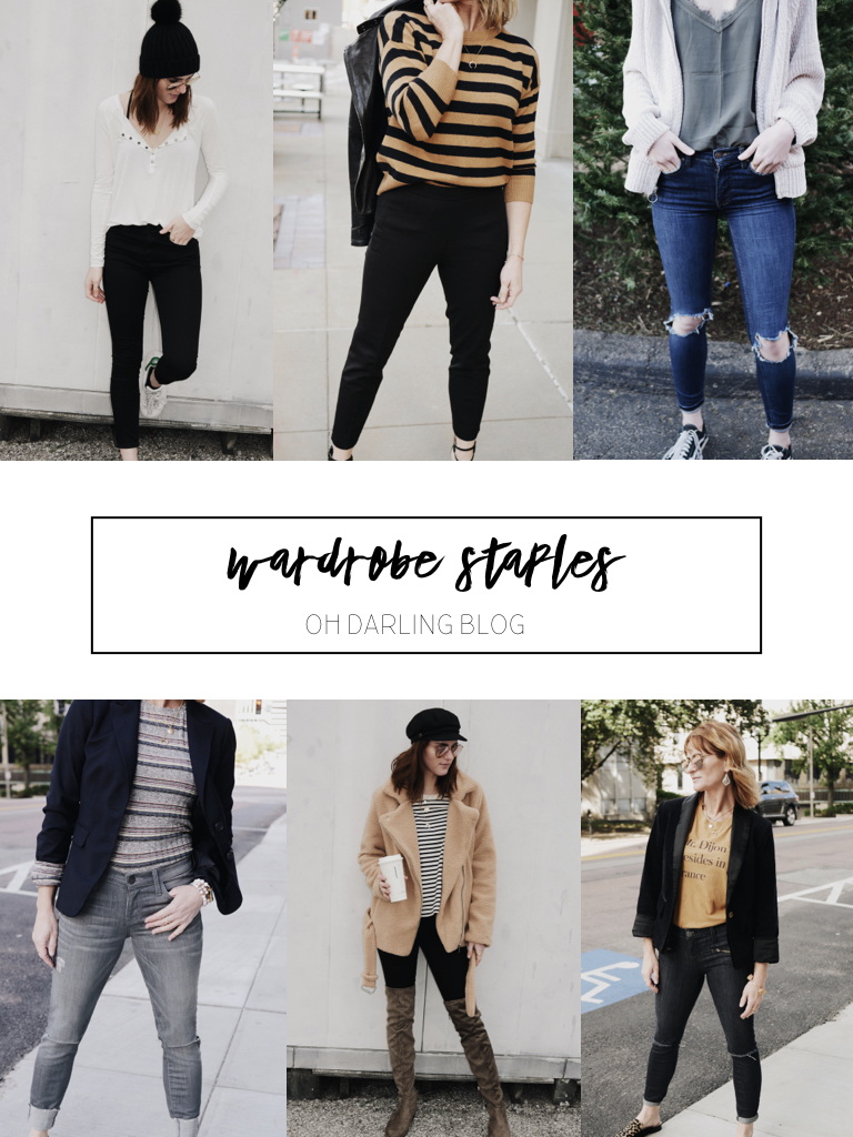 Wardrobe Staples